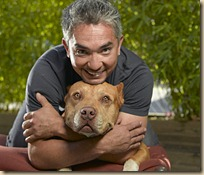 Cesar Millan, host of National Geographic Channel's Dog Whisperer.